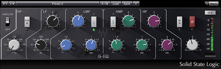 Waves Studio Classics Collection - Native Digital Download SSL G-Equalizer