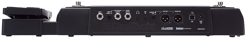 Digitech RP500 Rear View