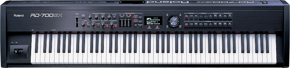 Roland RD-700GXF Plus SuperNATURAL Digital Stage Piano RD-700GX