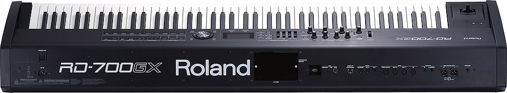 Roland RD-700GXF Plus SuperNATURAL Digital Stage Piano Rear View