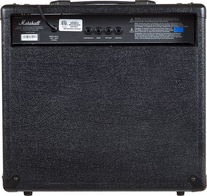 Marshall MB30 Rear View