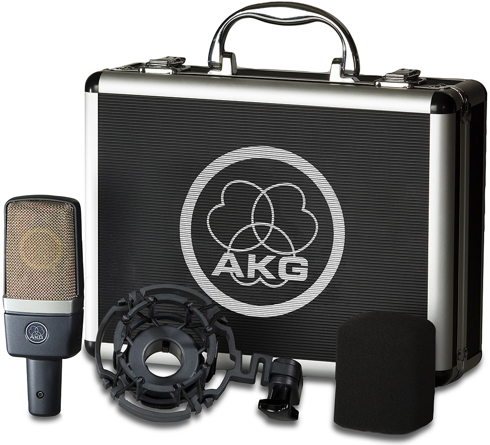 Akg C 214 Package View