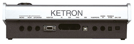 Ketron Midjay Plus Rear View