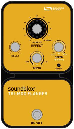 Soundblox Tri-Mod Flanger