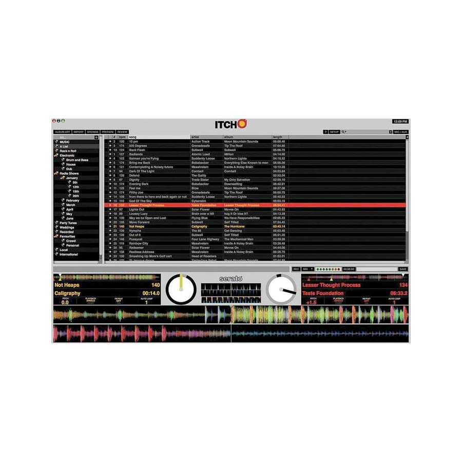 Vestax VCI-300MKII ITCH Screenshot