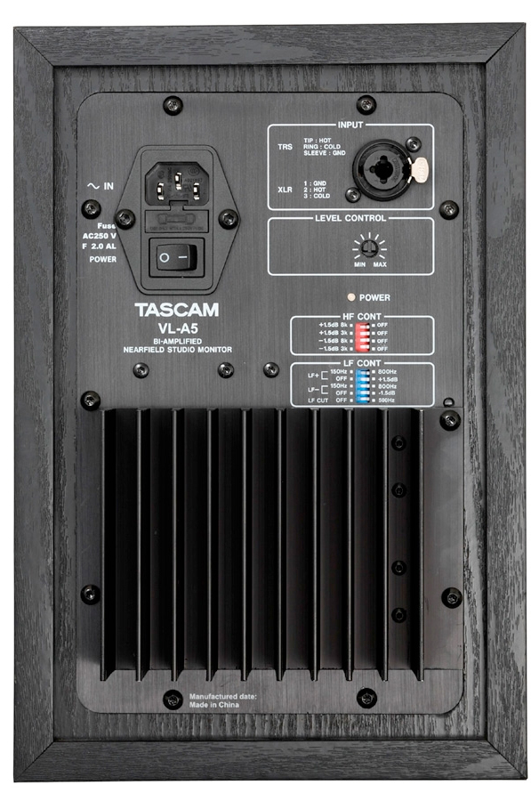 Tascam VL-A5 Pair Rear View