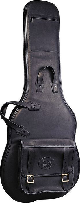 LM18 Premium Leather Electric Guitar Bag