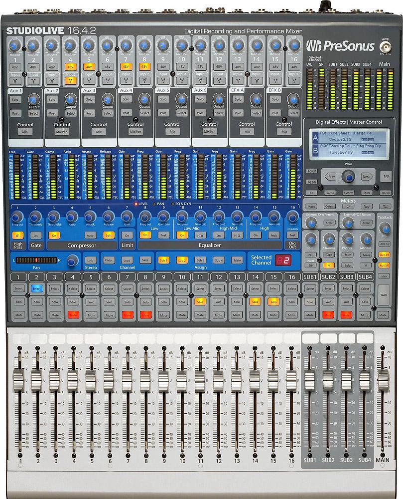 Presonus StudioLive 16.4.2 Mixer & FireWire Recording- USED!Large View