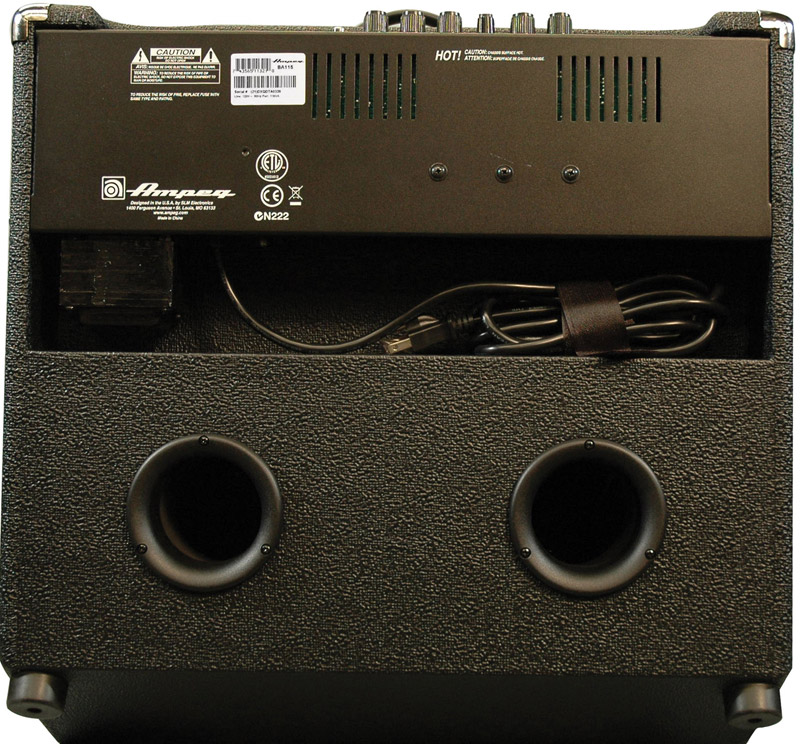 Ampeg BA115 Rear View