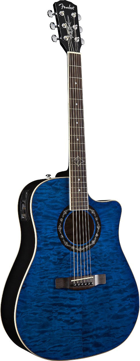 Fender T-Bucket™ 300 CE Transparent Blue