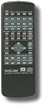 Tascam DV-RA1000HD Rear View