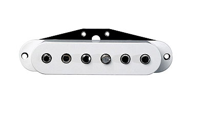 Dimarzio DP175 True Velvet Neck Pickup White