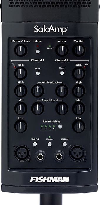 Fishman SoloAmp PA System Controls View