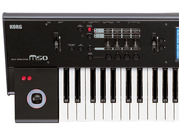 Korg M50-61Detail
