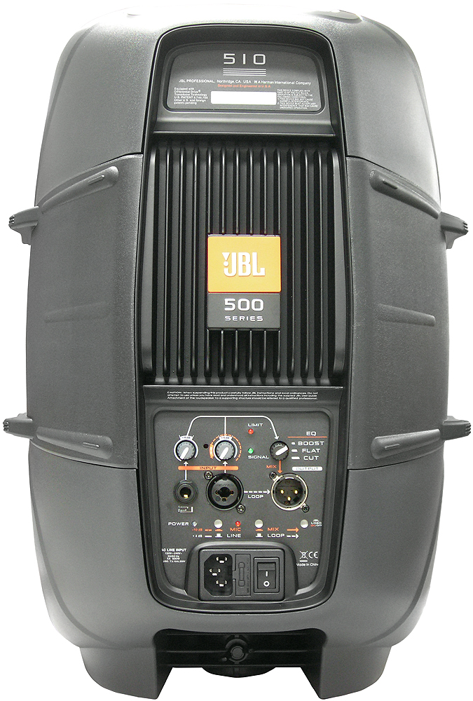 JBL EON510 Rear View