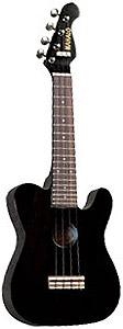 Mahalo UTL-30 Classic Guitar Shape UkuleleBlack