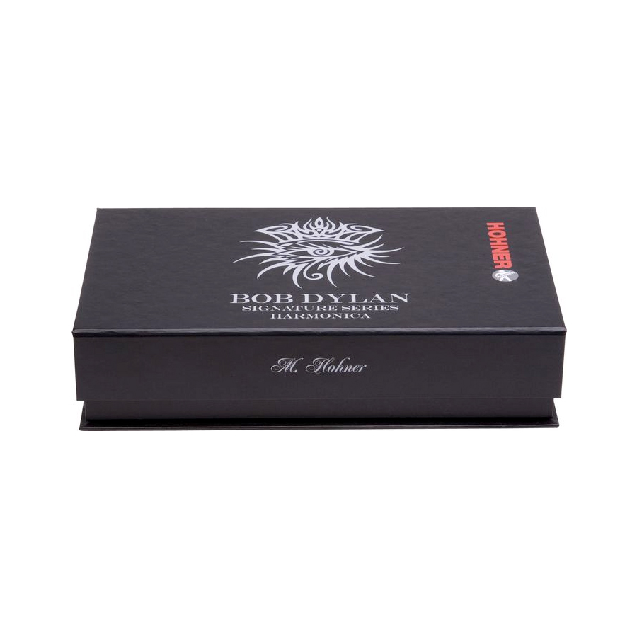 Hohner Bob Dylan Signature Series - Key of G Box Closed
