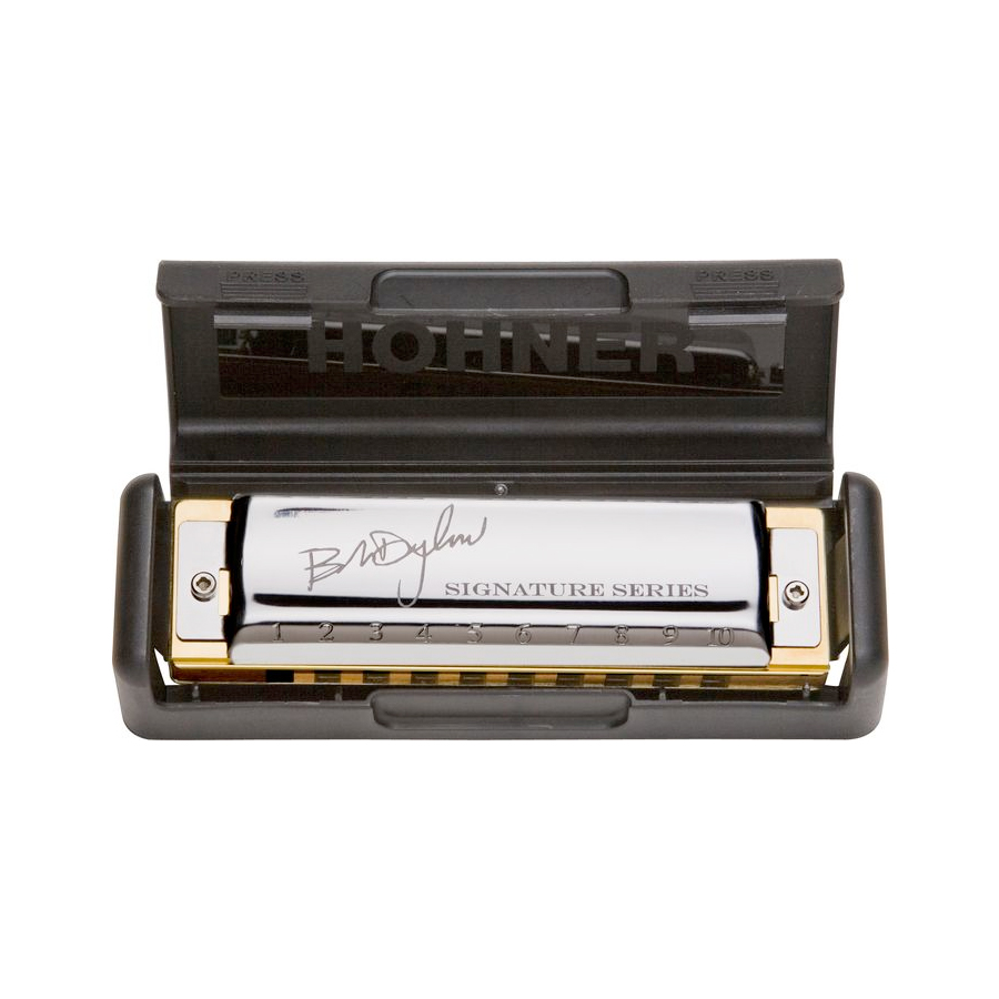 Hohner Bob Dylan Signature Series - Key of A Case Opened