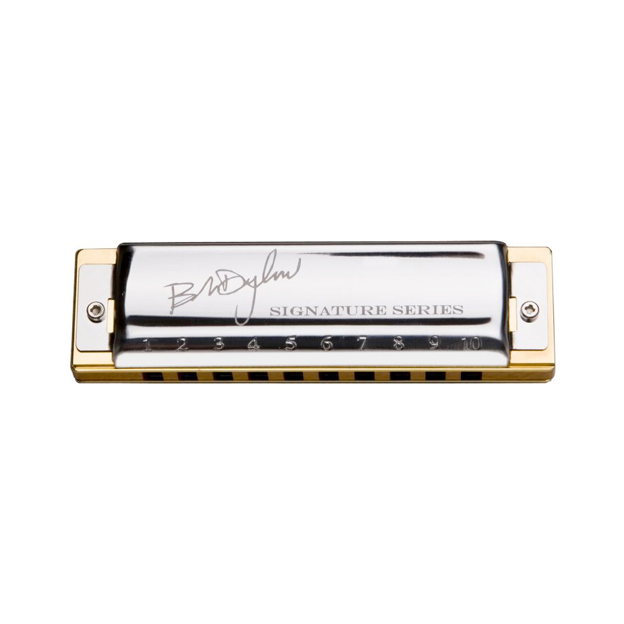 Hohner Bob Dylan Signature Series - Key of G Harmonica