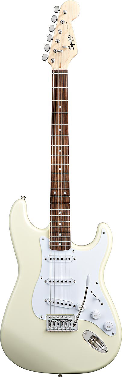 Squier Bullet® Stratocaster with Tremolo Acrctic White