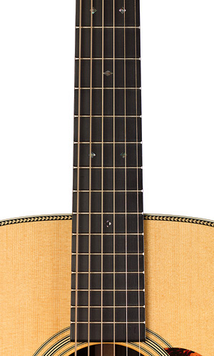 Martin HD-28V Fingerboard View