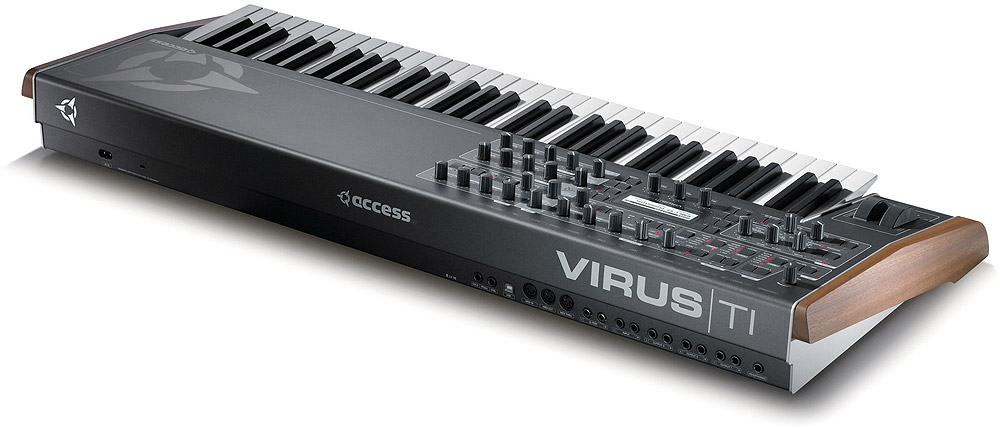 Access Virus TI2 Keyboard Rear View