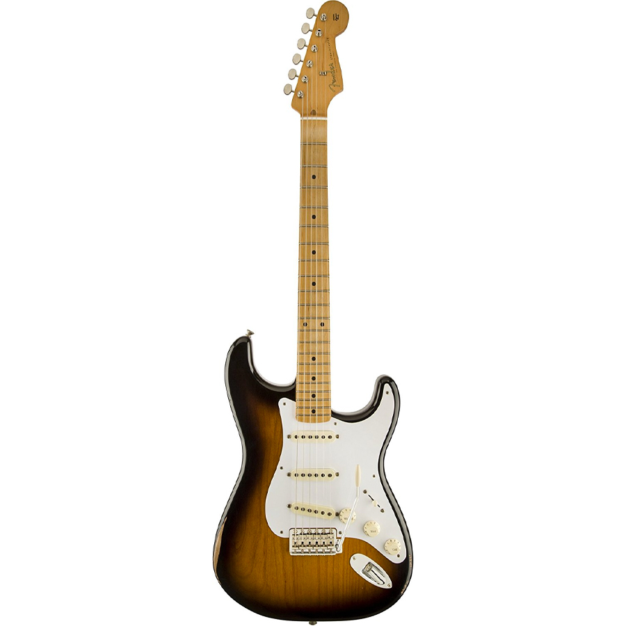 Road Worn 50s Stratocaster - 2-Color Sunburst - Maple