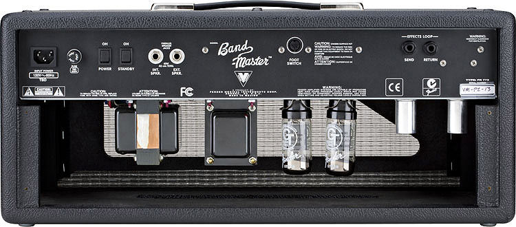 Fender Band-Master® VM Head Rear View