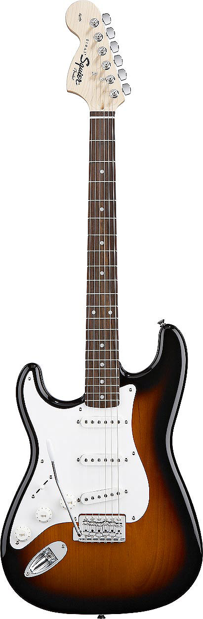 Stratocaster Left Handed - Brown Sunburst