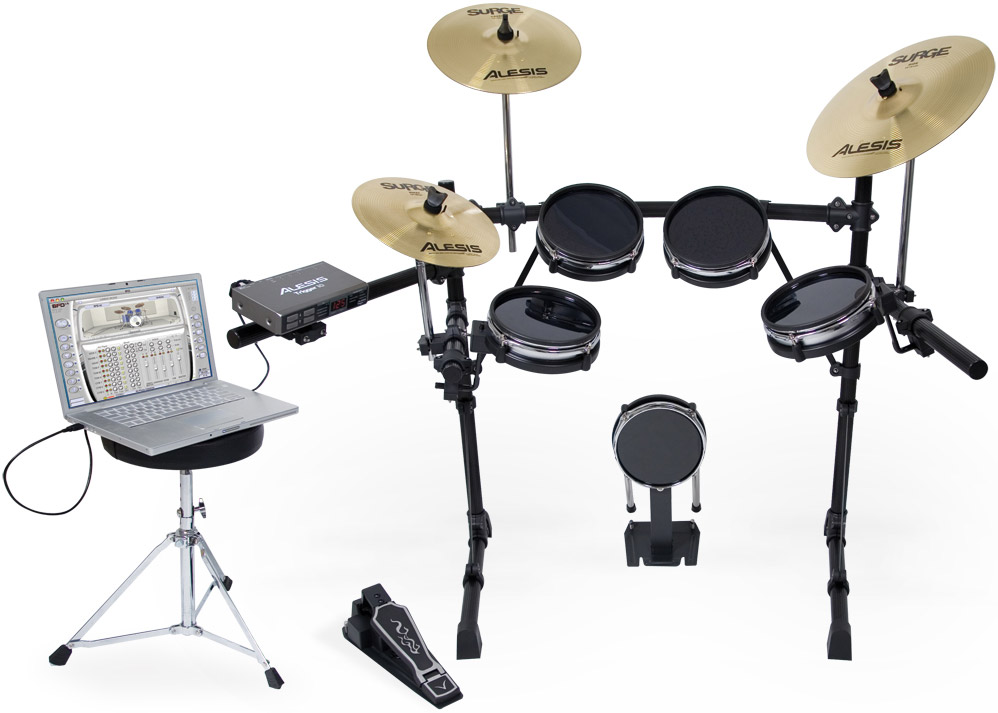 USB Pro Drum Kit with Surge Cymbals