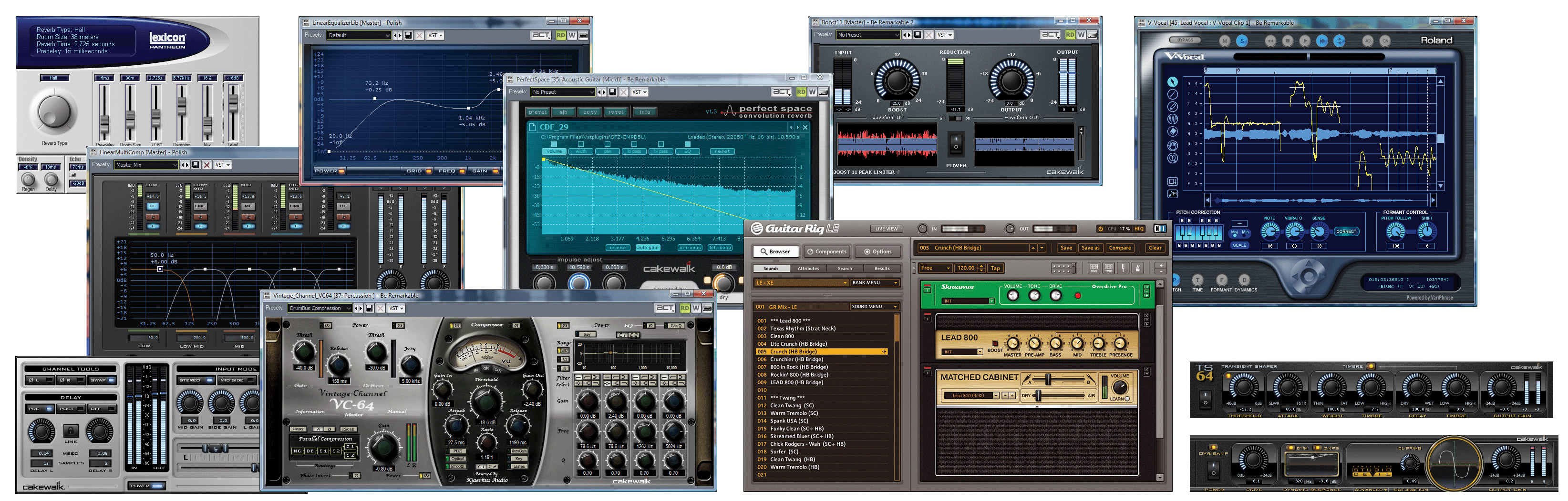 Cakewalk Sonar 8.5 Studio Screenshot Views