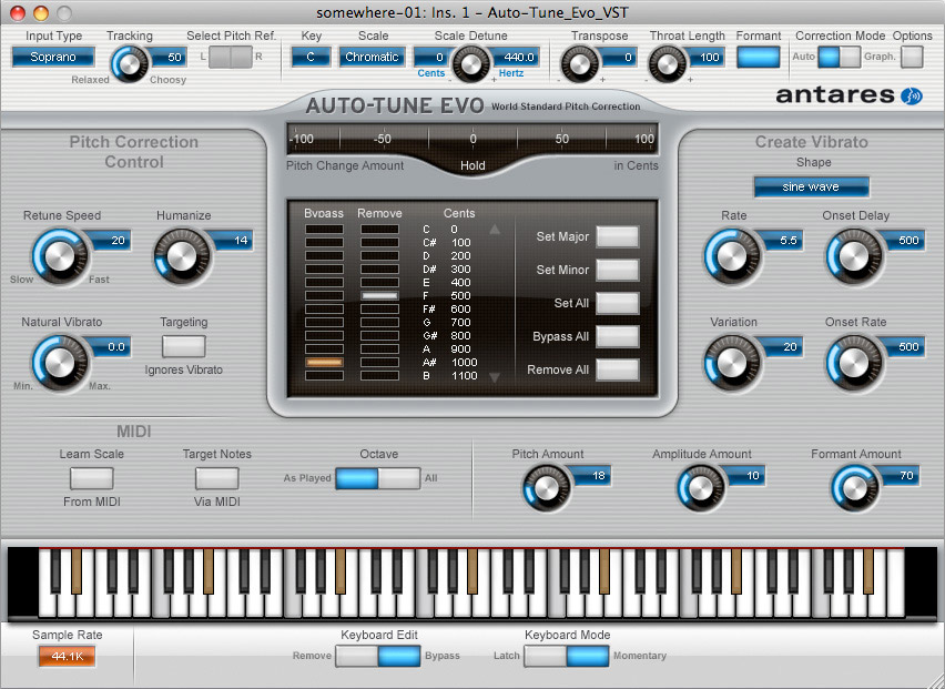 Antares Auto-Tune Evo Native Screenshot View 1