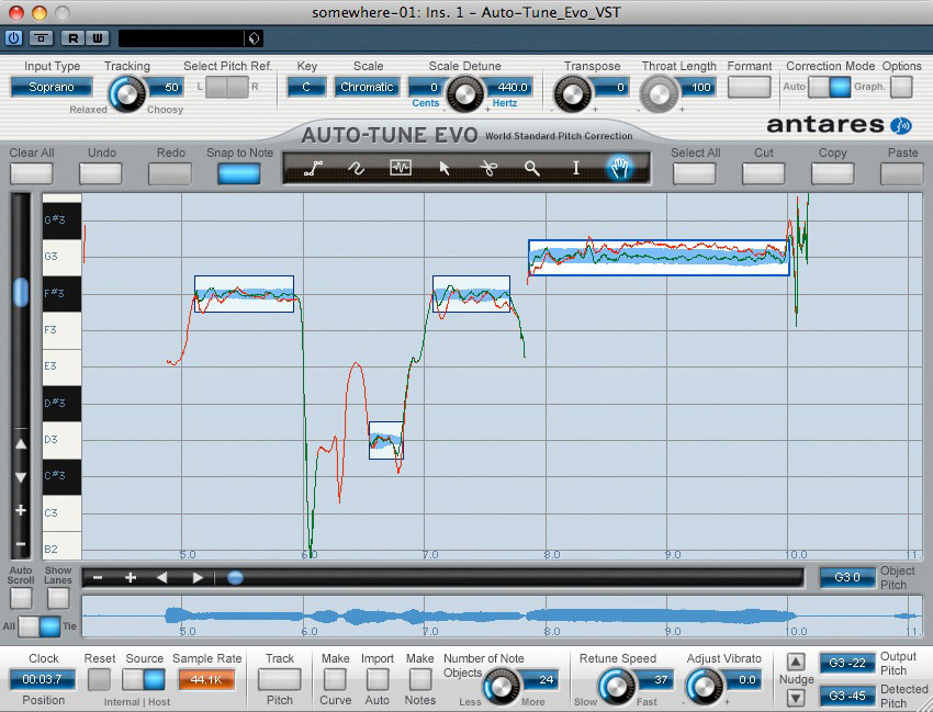 Antares Auto-Tune Evo Native Screenshot View 2