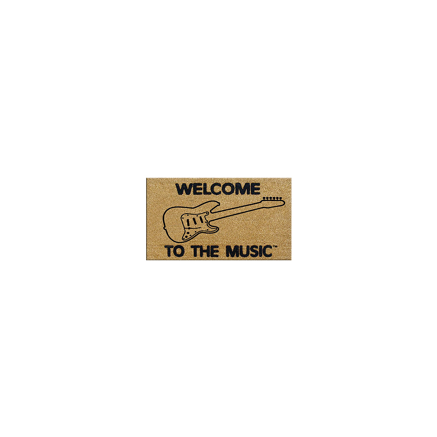 DR Welcome to the Music Doormat Electric