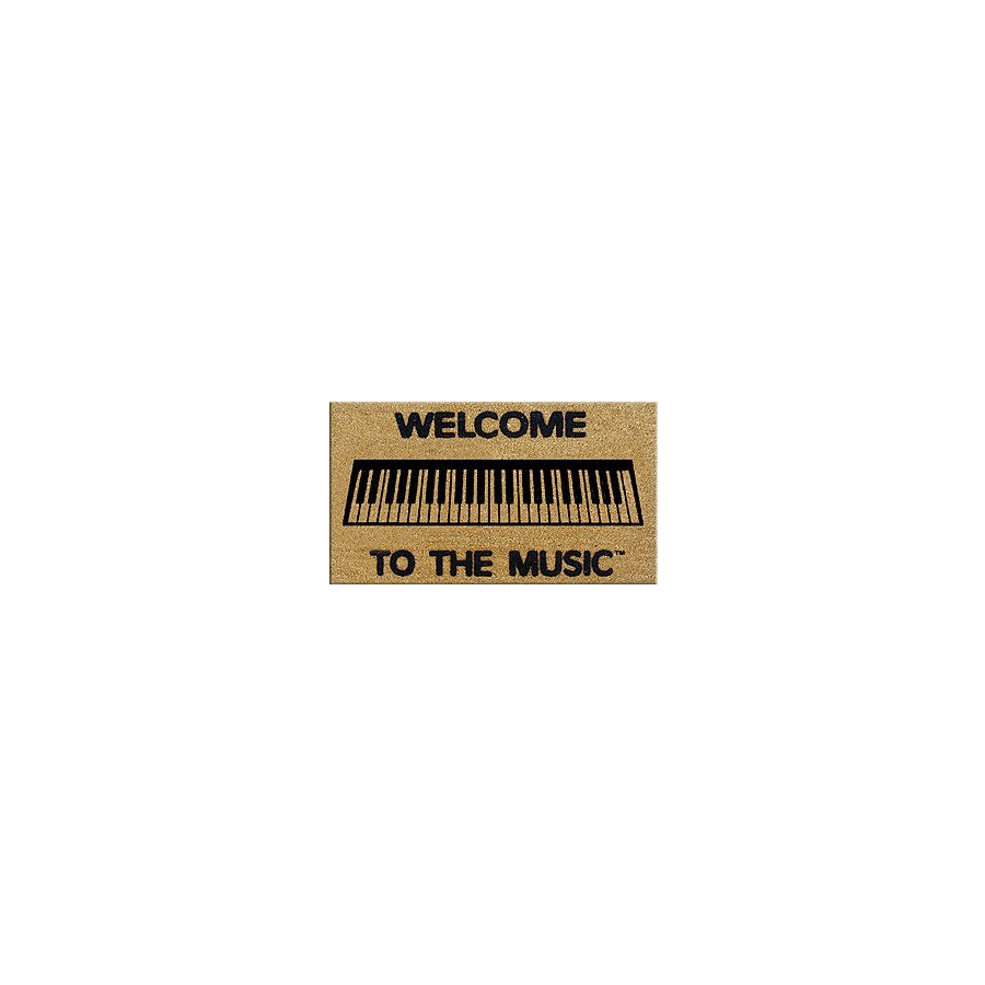 DR Welcome to the Music Doormat Keyboard