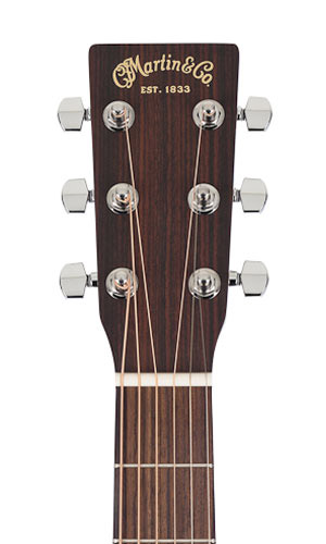 Martin OM-1 Headstock View