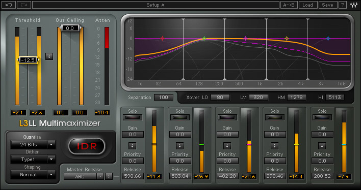 Waves L3-16 - TDM Digital Download L3-LL Multimaximizer