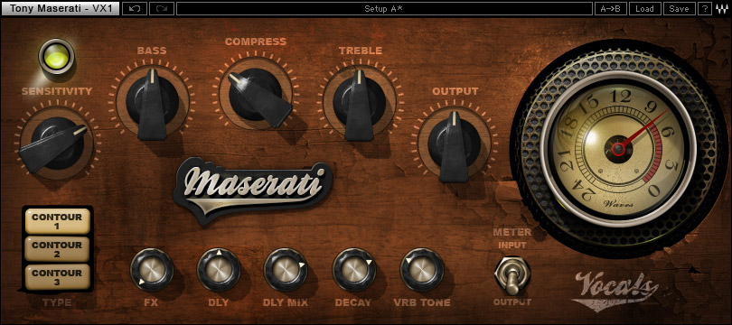 Waves Tony Maserati Collection - Native Digital Download VX1 Vocal Enhancer