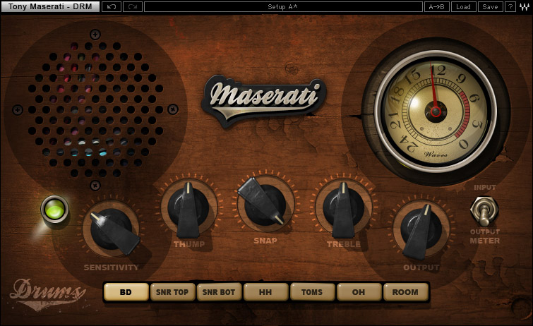 Waves Tony Maserati Collection - Native Digital Download DRM Drum Slammer