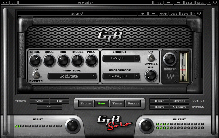 Waves GTR Solo - Native Digital Download Screenshot View 4