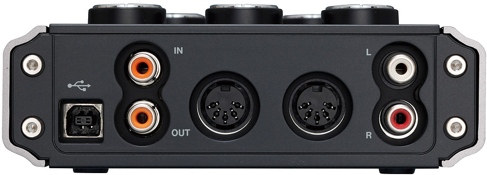 Tascam US-144mkII Rear View