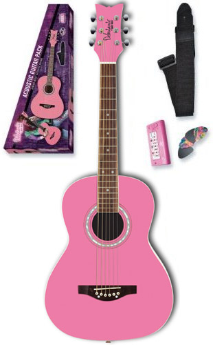 Debutante Jr. Miss Acoustic Starter Pack - Bubble Gum Pink