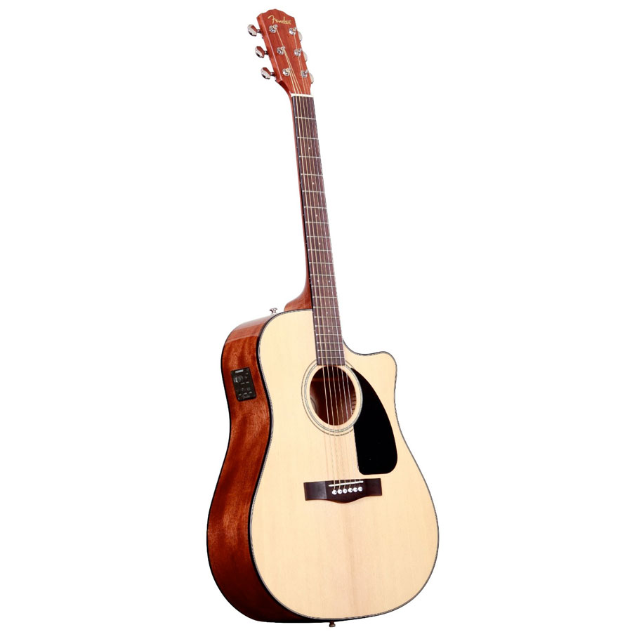 Fender CD-60CE Natural V2 Left Side