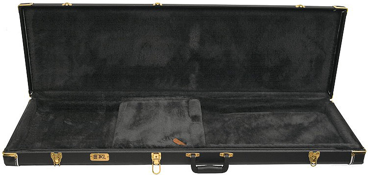Deluxe Electric Square Bass Hard Shell Case - 8836