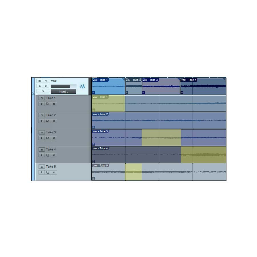 Track Editing