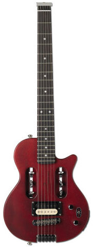 Escape EG-1 Mahogany Red w/Deluxe Gig Bag