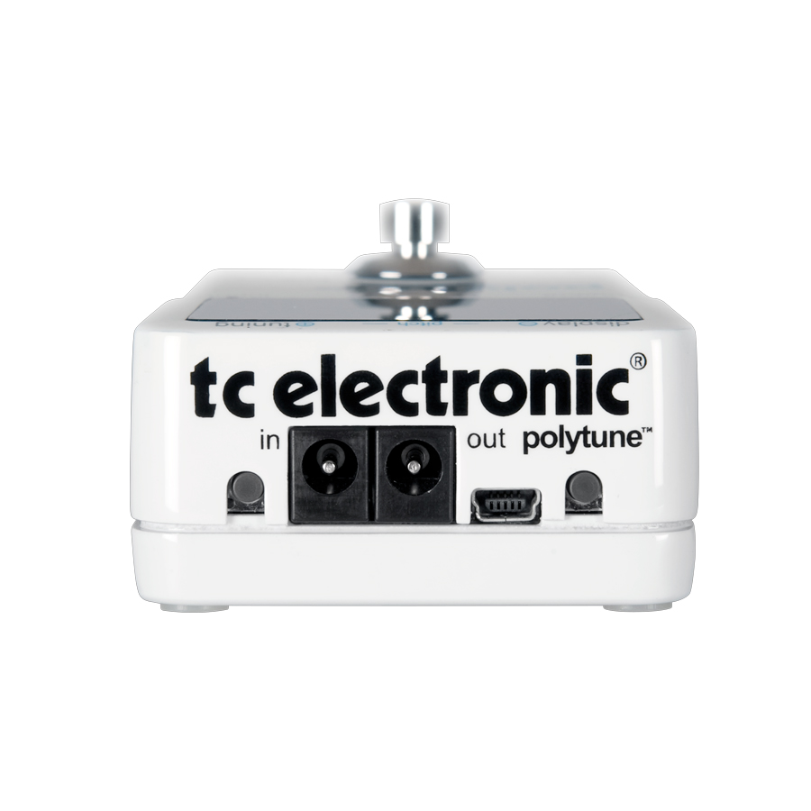 TC Electronic PolyTune Rear View