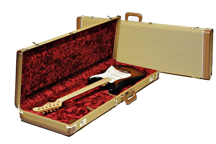 Deluxe Tweed (Strat® or Tele®) Guitar Hard Shell Case