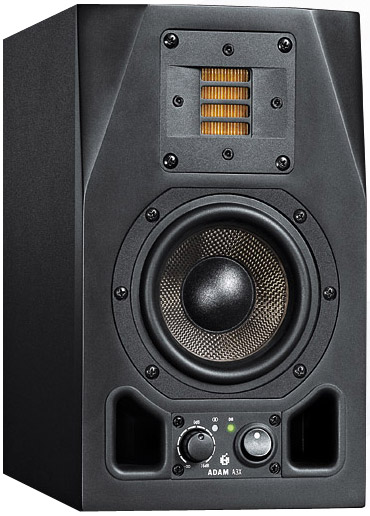 Adam Audio A3X Pair Rear View