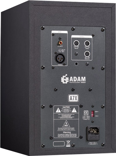 Adam Audio A7X Pair Rear View